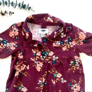 3T Old Navy Floral Tunic